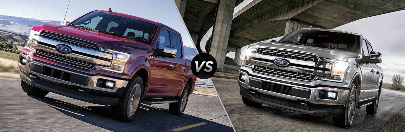 2019 Ford F-150 vs 2018 Ford F-150