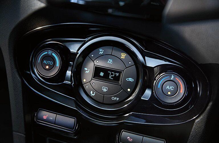 2019 Ford Fiesta center dashboard shot