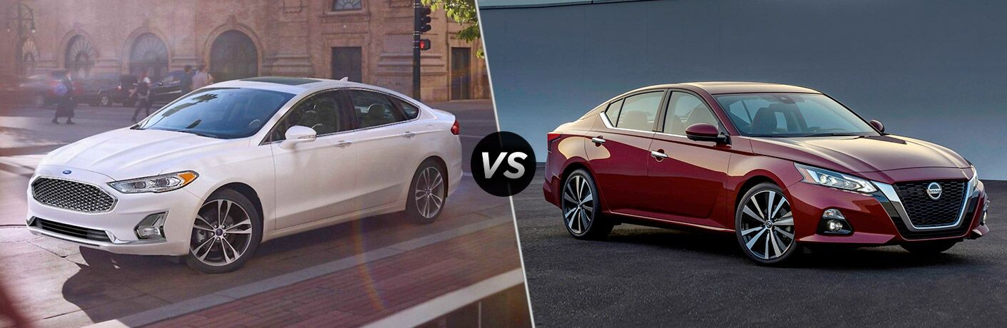 2019 Ford Fusion vs 2019 Nissan Altima