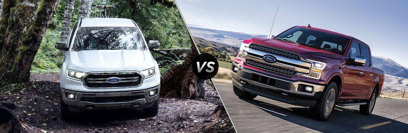 2019 Ford Ranger vs 2019 Ford F-150