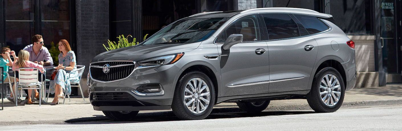2020 Buick Enclave parked on a street