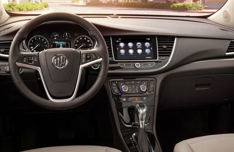 In-dash Buick Infotainment System in the 2020 Buick Encore