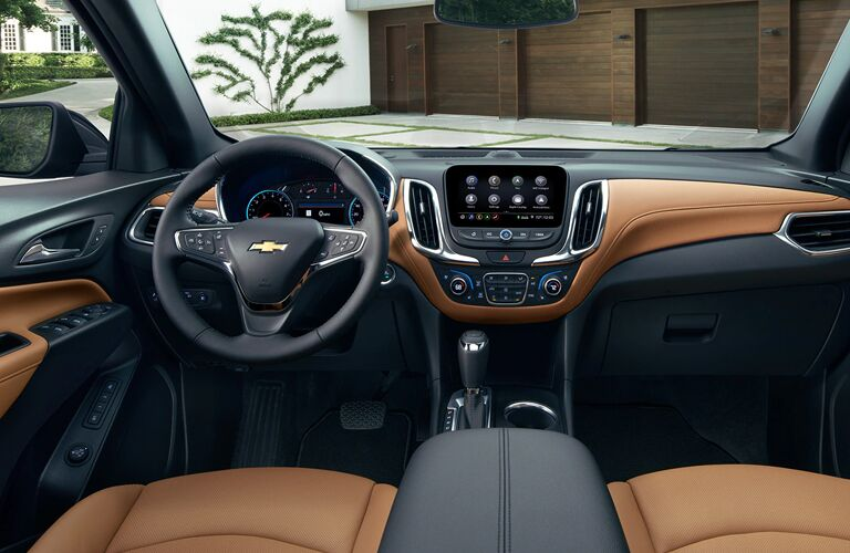2020 Chevy Equinox dashboard