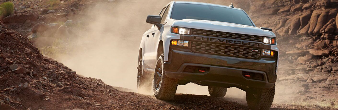 2020 Chevy Silverado powers offroad