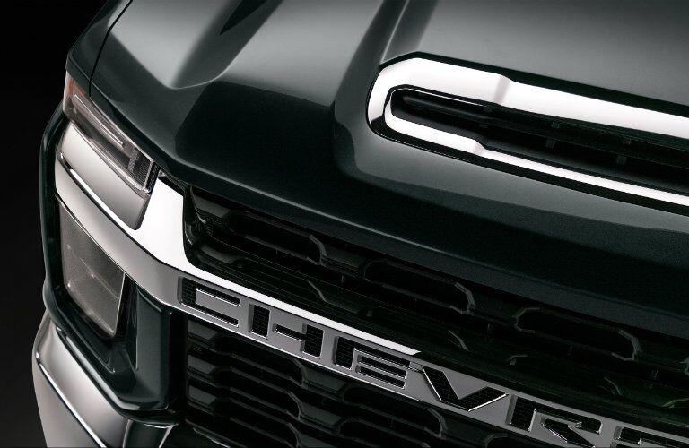 2020 Chevy Silverado 2500 HD grille