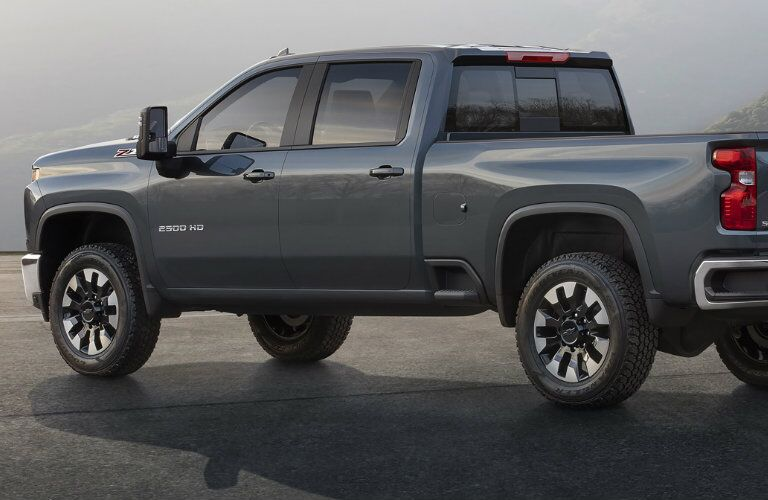 2020 Chevy Silverado 2500 HD in gray