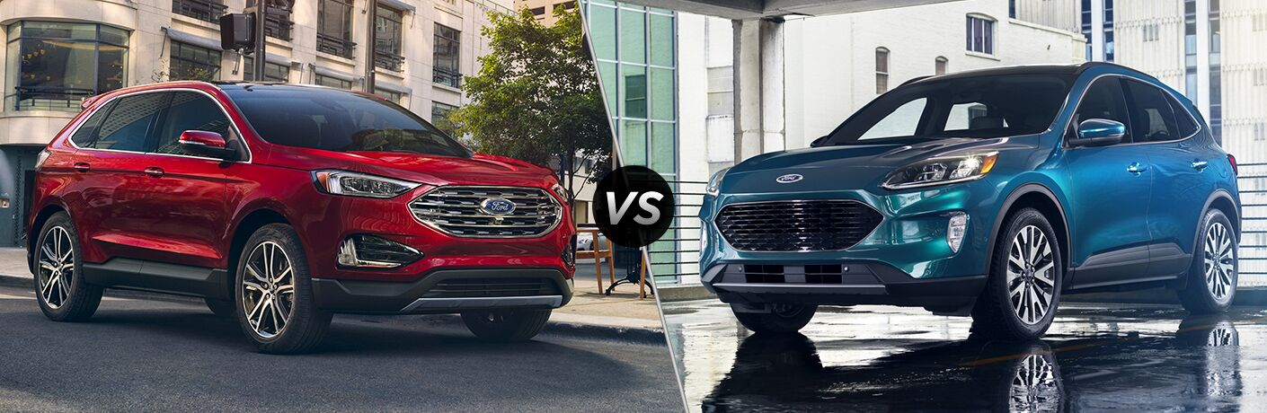 Ford Edge Vs Escape >> 2020 Ford Edge Vs 2020 Ford Escape