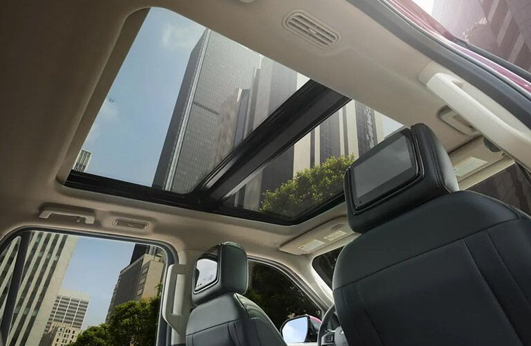 Panoramic roof on 2020 Ford Expedition