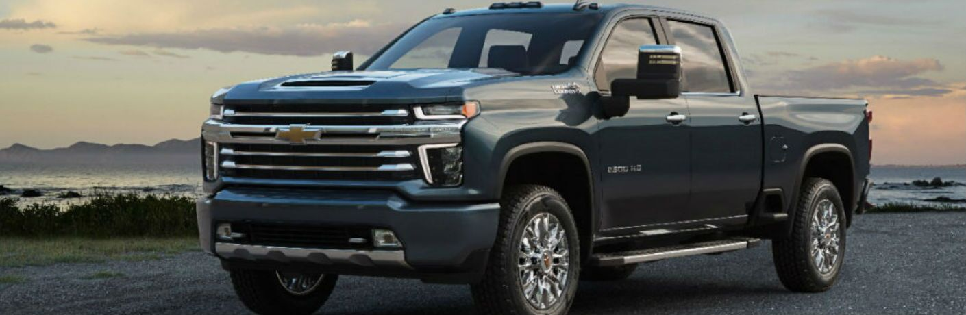 2020 Chevrolet Silverado 2500 HD in gray