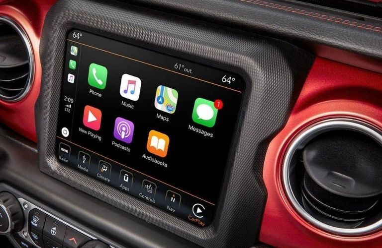 2020 Jeep Wrangler Unlimited touchscreen