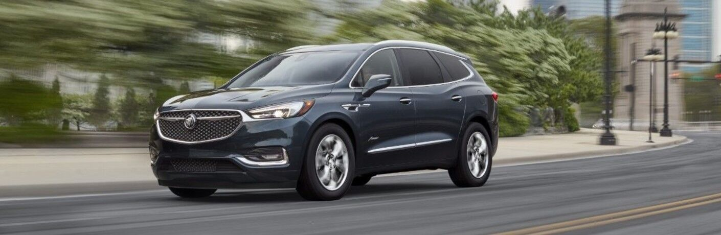 2021 Buick Enclave on city street