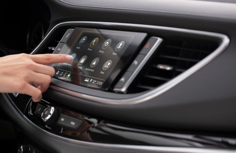 2021 Buick Enclave 8-inch touchscreen