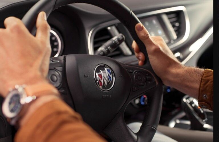 2021 Buick Enclave steering wheel