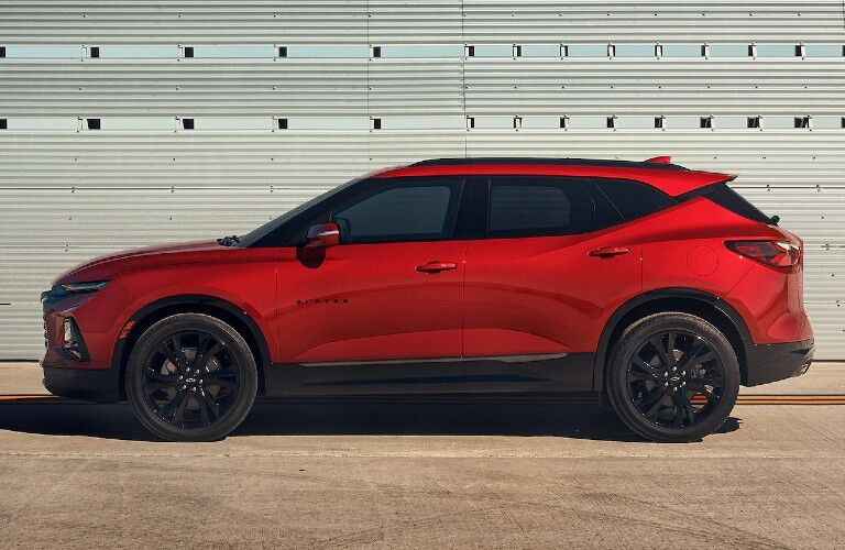 2021 Chevrolet Blazer exterior styling side profile