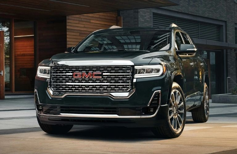 2021 GMC Acadia exterior styling front fascia