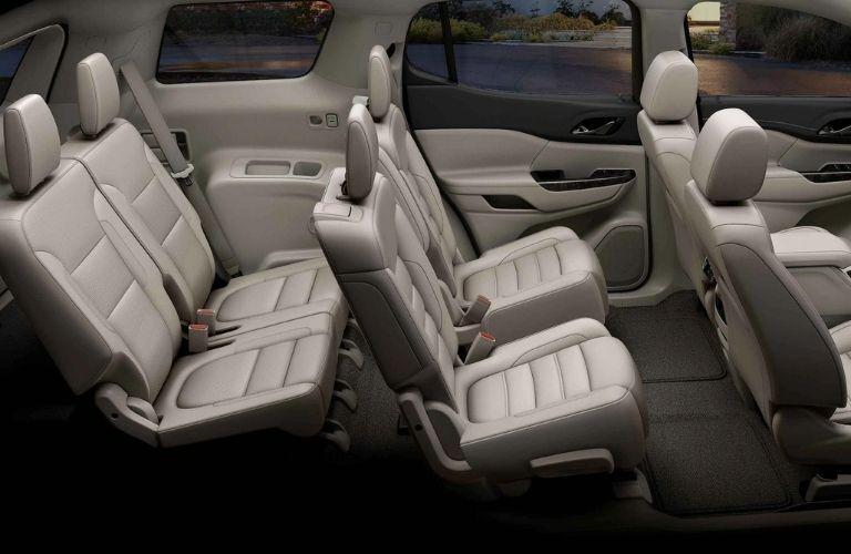 2021 GMC Acadia interior seating