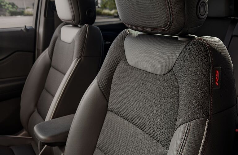 2021 Chevy Trailblazer black seats