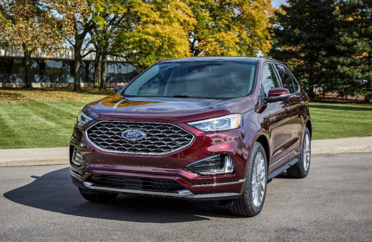 2021 Ford Edge from the front