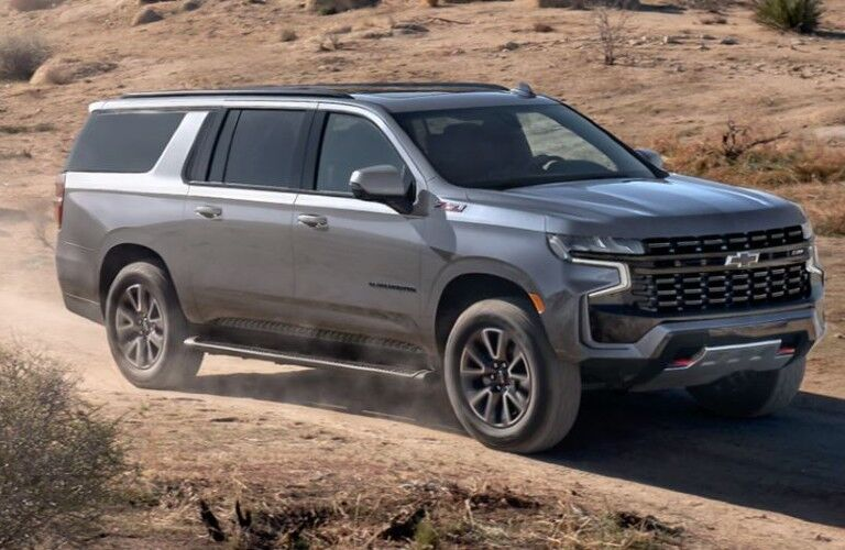 2021 Chevrolet Suburban front side view