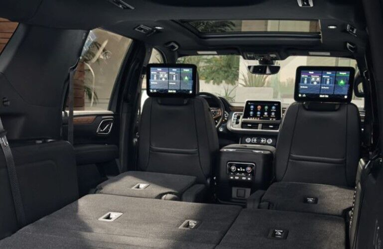 2021 Chevrolet Suburban rear cargo space