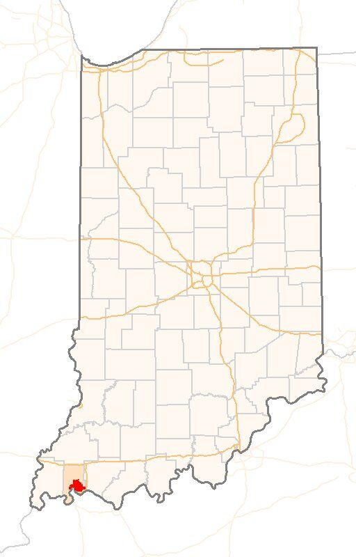Evansville Indiana Map Evansville, Indiana near Owensboro, Kentucky | Evansville Kia Evansville Indiana Map