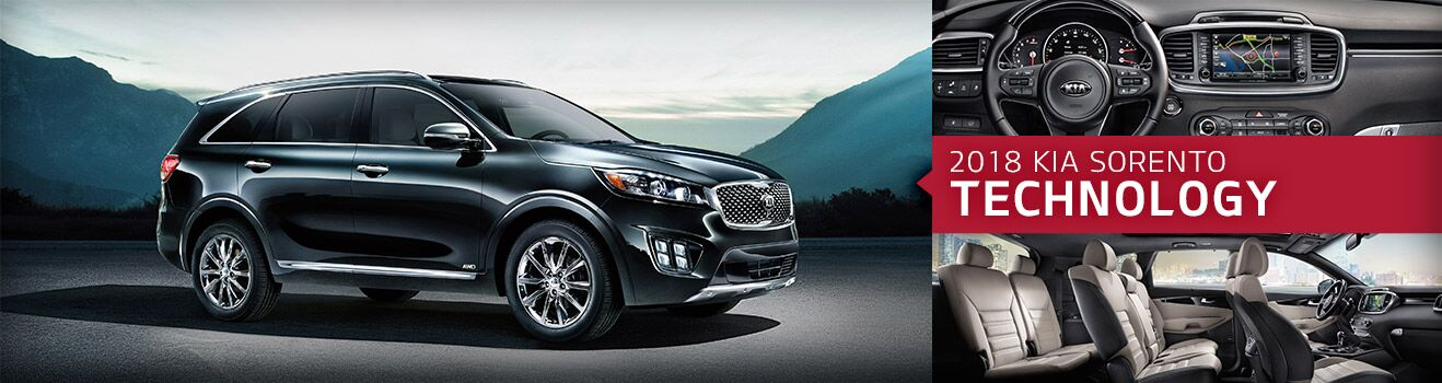2018 Kia Sorento Technology