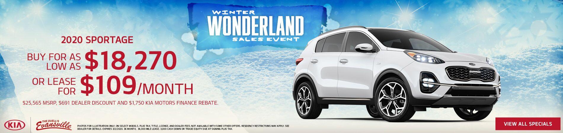2020 Kia Sportage Special Offer   Evansville, IN