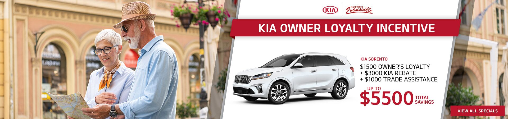 Kia Sorento Owner Loyalty Offer