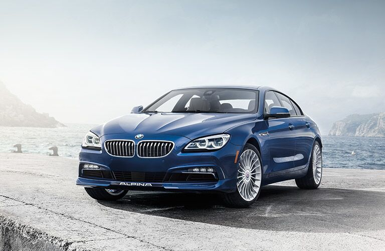 2017 BMW 6 Series in Blue Front View