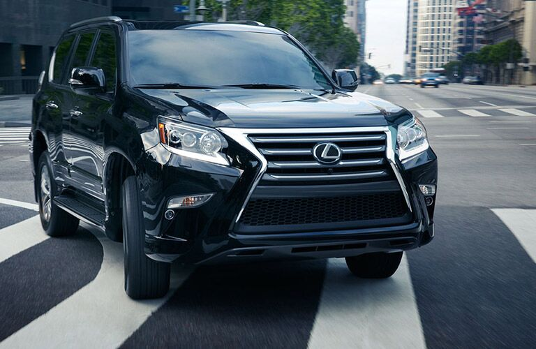2016 Lexus GX in Black Front View