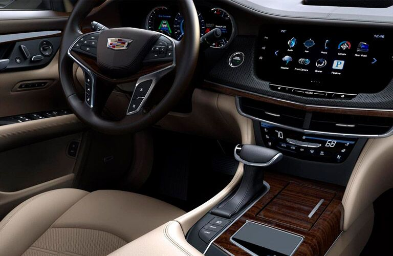 2017 Cadillac premium interior center console