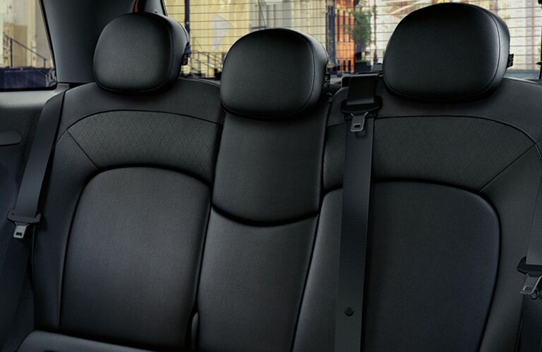 2017 MINI Cooper rear seat