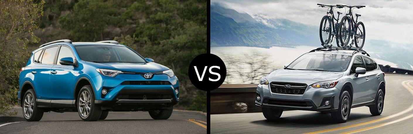 2018 Toyota RAV4 vs. 2019 Subaru Crosstrek