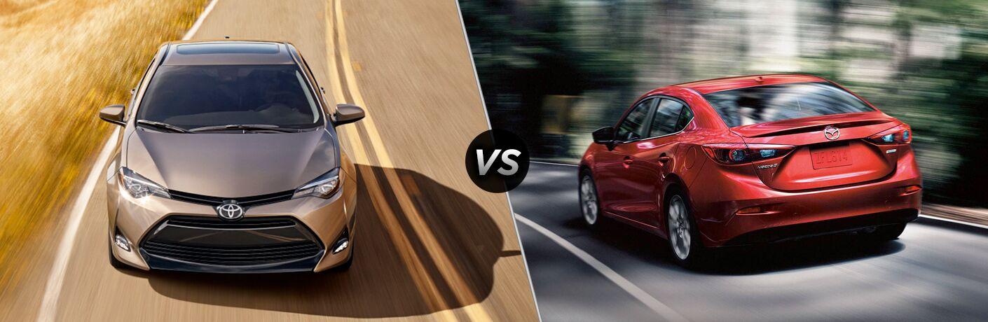 2019 Toyota Corolla vs. 2018 Mazda3