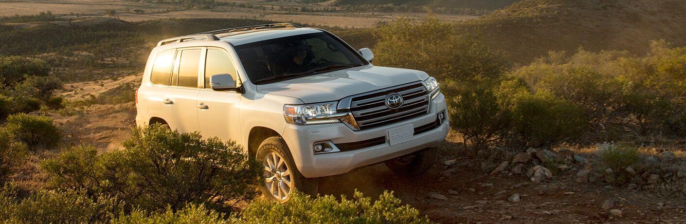 2019 Toyota Land Cruiser in the desert