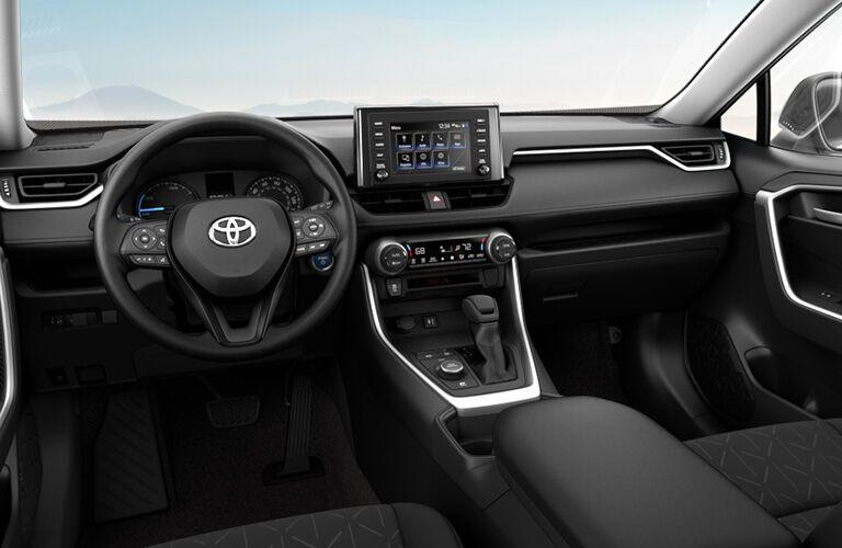 2019 Toyota RAV4 Hybrid Front Dash