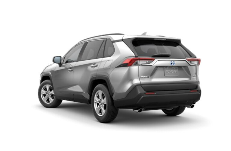 2019 Toyota RAV4 Hybrid back end