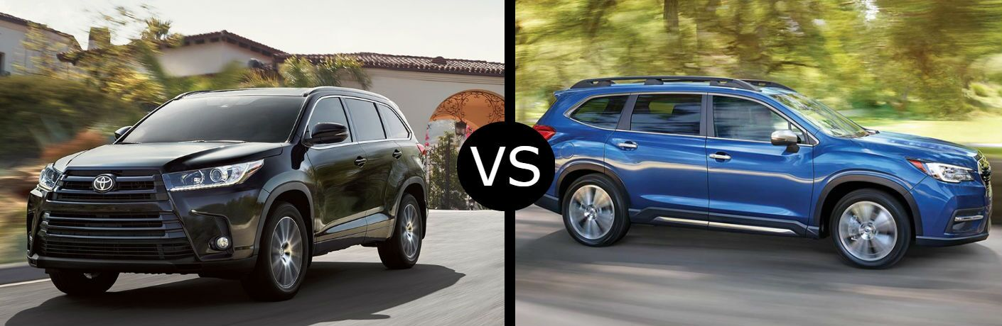 2019 Toyota Highlander vs. 2019 Subaru Ascent