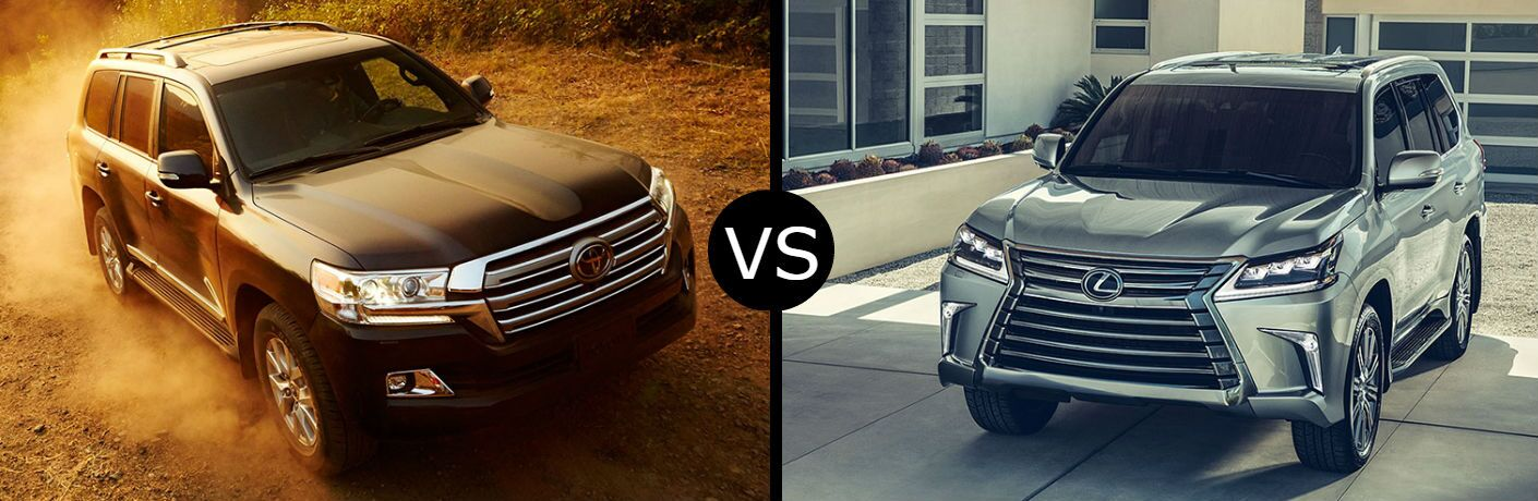 2019 Toyota Land Cruiser vs. 2019 Lexus LX 570