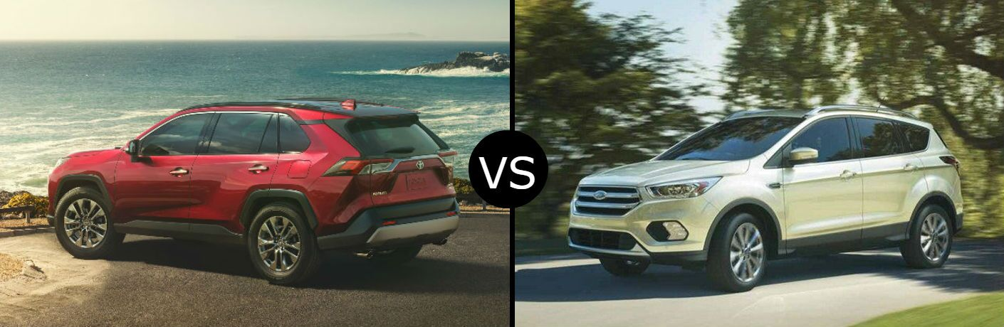 2019 Toyota RAV4 vs. 2019 Ford Escape