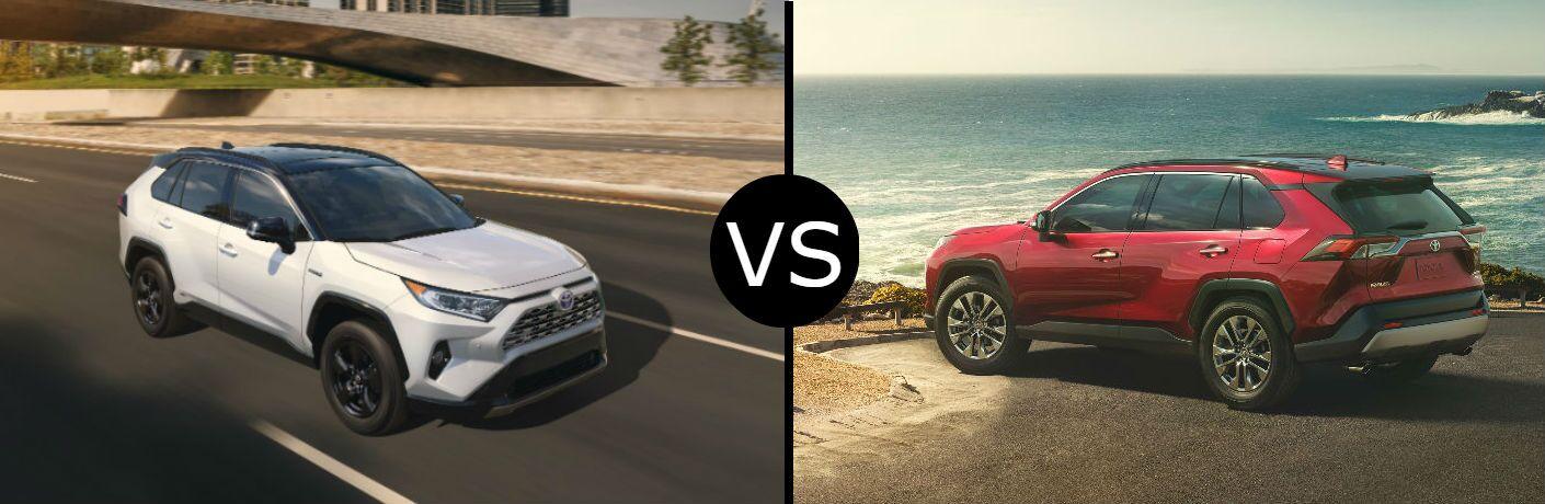 2019 Toyota RAV4 vs. RAV4 Hybrid