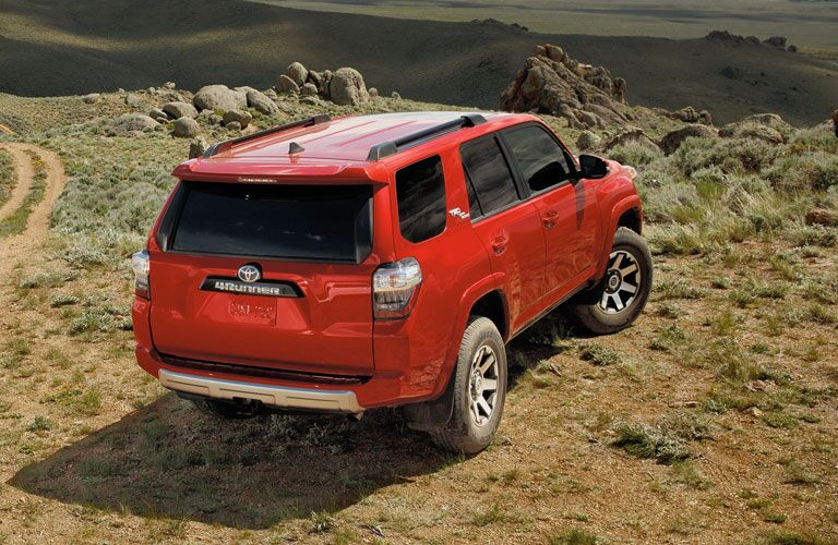 2020 Toyota 4Runner parked overlooking the desert