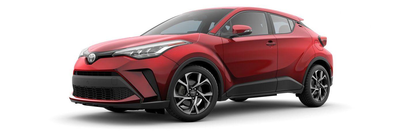 2020 Toyota C-HR in the spotlight