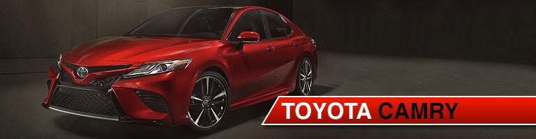 2018 Toyota Camry in the spotlight
