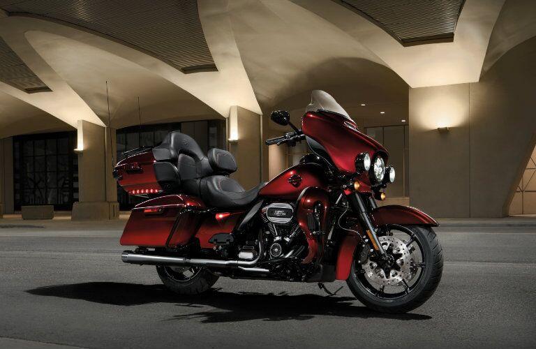 Red 2018 Harley-Davidson 115th Anniversary CVO Limited