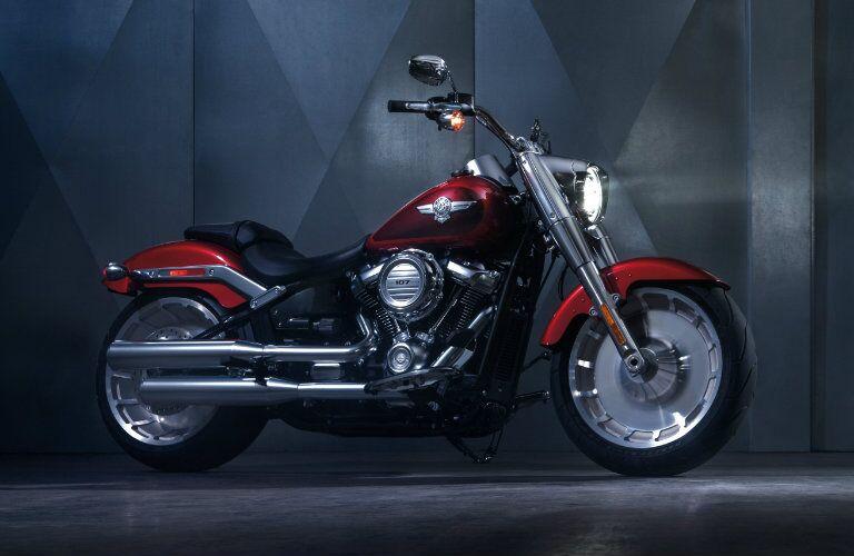 Red 2018 Harley-Davidson Fat Boy