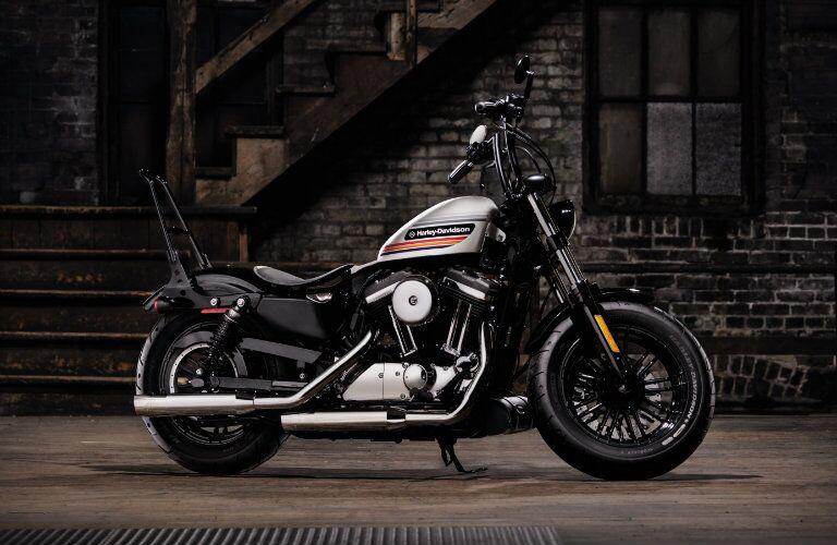 Black and silver 2018 Harley-Davidson Sportster 48 Special