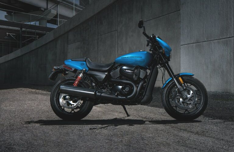 Blue 2018 Harley-Davidson Street Rod