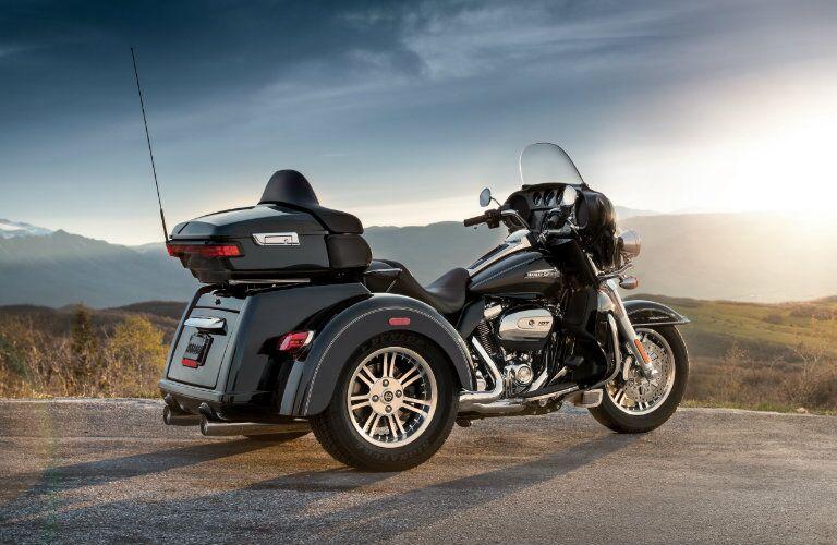 Black 2018 Harley-Davidson Tri-Glide Ultra trike