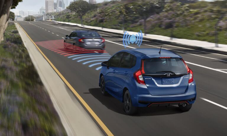 New Honda Fit Safety Sensing
